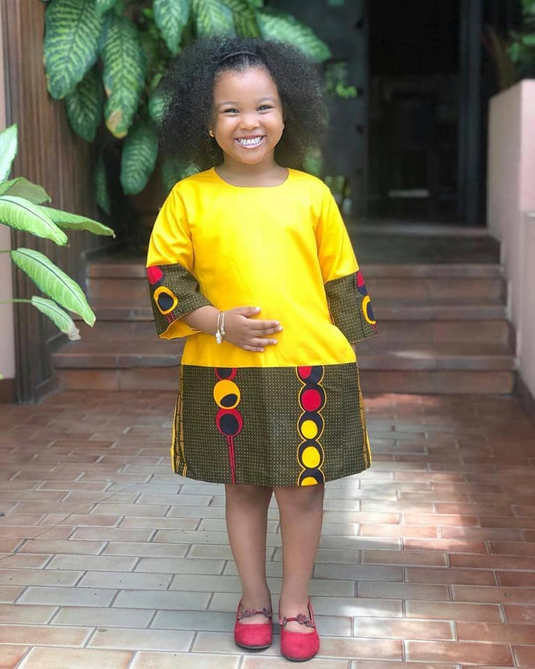 56448973 411722659611742 973210628309123072 n - Cute Ankara Styles For Children And Babies (2019)