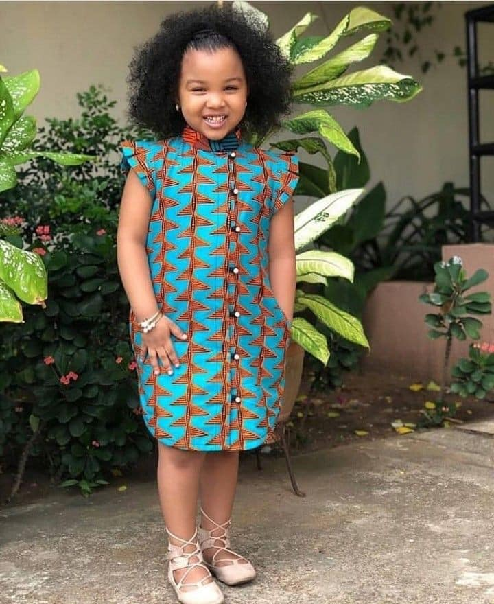 56476727 406558536794821 8507527857650532352 n - Cute Ankara Styles For Children And Babies (2019)
