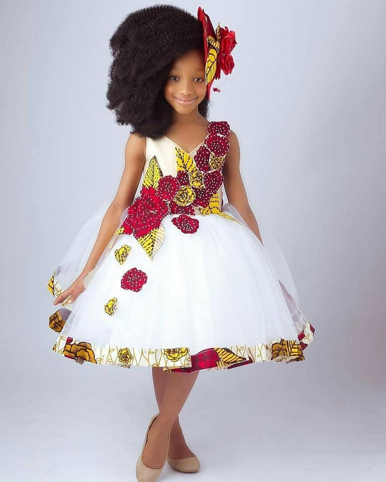 57267589 411722596278415 7531799347713802240 n - Cute Ankara Styles For Children And Babies (2019)