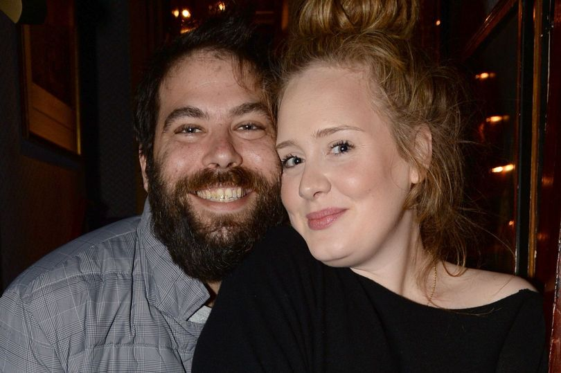 Adele and her husband - Singer Adele Splits From Husband Simon Konecki
