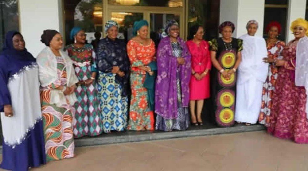 Aisha Buhari and Governors wives 1000x554 - Details Of Aisha Buhari's Meeting With Governors' Wives Emerge