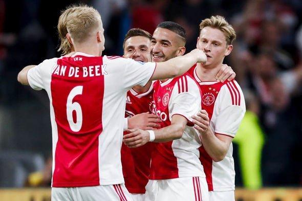 Ajax team news predicted line up Tottenham 1846739 - Champions League: Ajax Releases Squad List Against Tottenham Hotspur