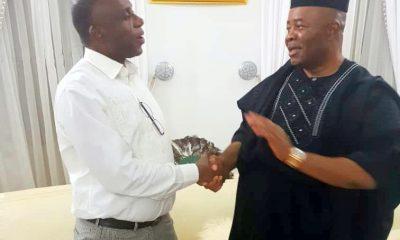 Akpabio and Amaechi reconcile