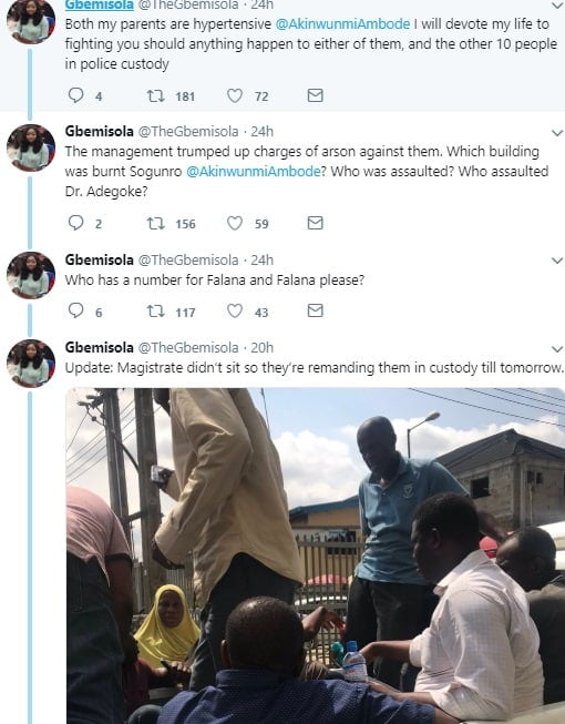 Ambode tweet2 - Nigerian Lady Makes Strong Allegation Against Governor Ambode