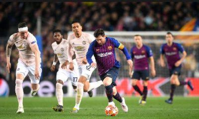 Barcelona Dump Manchester United Out Of Champions League