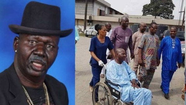 Baba Suwe on the wheel - Nigerians React To Baba Suwe's Death Rumour