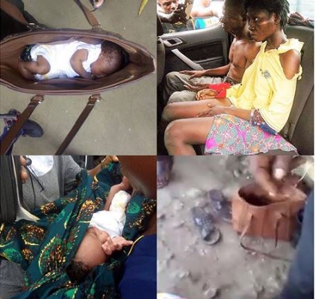 Baby Police - Kidnappers Arrested With 6-Months Old Baby