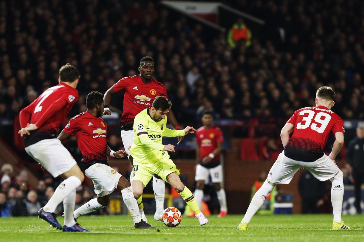 Livescore: Full Champions League Results After Manchester United Vs Barcelona Match