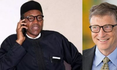 Bill Gates advises Buhari on revenue and tax
