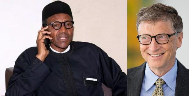 Nigerians React As Bashir Claims Bill Gates Called Buhari