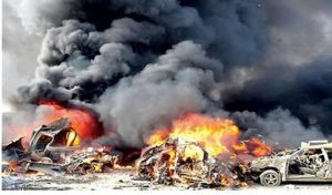 Bombers 300x176 - Boko Haram Members Killed As Troops Bomb Hideout In Borno – [Video]
