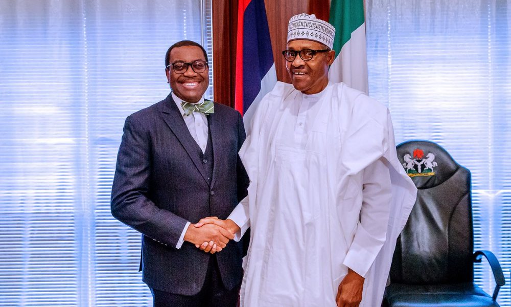 Buhair and AfDB President 1000x600 - African Development Bank President, Akinwunmi Adeshina Speaks About Effective Taxation In Nigeria