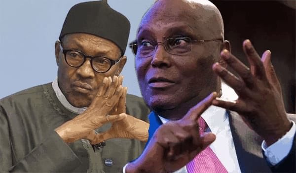 Buhari Atiku - Atiku vs Buhari: Ex-VP Sets Date To Demand Withdrawal Of Tribunal Judge