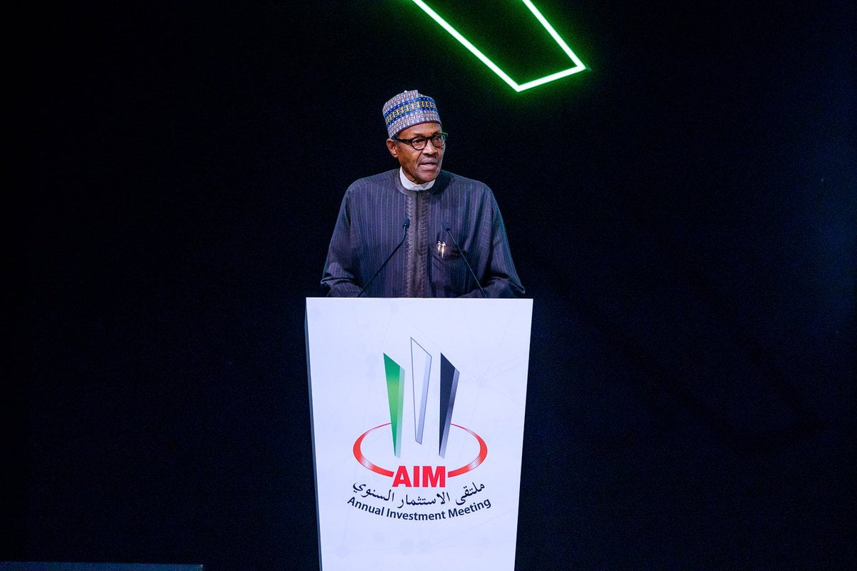 What Buhari Said At The Annual Investment Meeting In Dubai