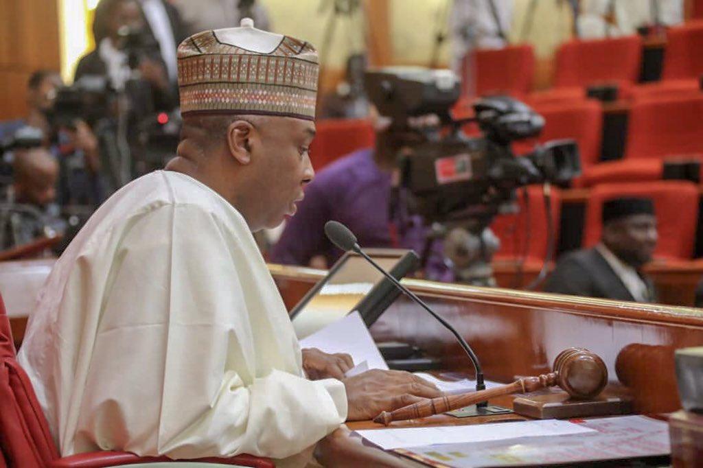 Saraki Reacts As Buhari Signs New Minimum Wage Bill Into Law