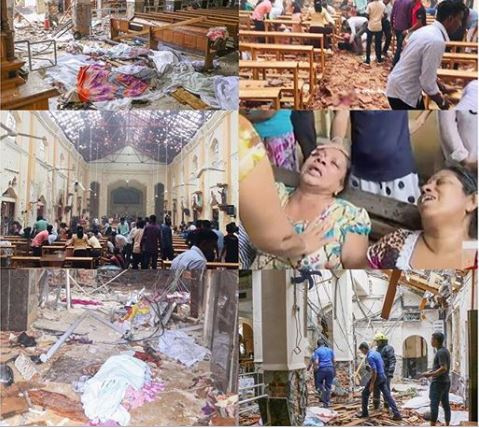 Church Killings - Easter Sunday Turns Bloody As Bomb Explosions Kill Scores
