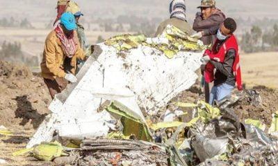 Crashed Boeing