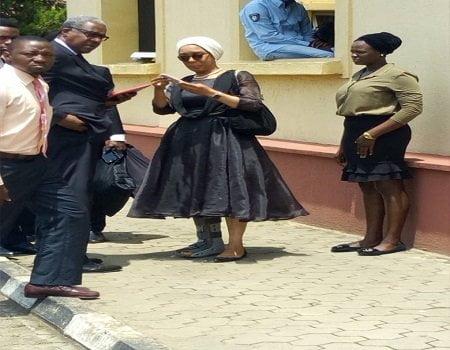 D4R0P8pXkAA6kD6 1 - Corruption Allegations: Drama As EFCC Re-Arrests Justice Ofili-Ajumogobia