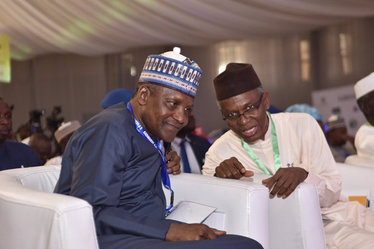 Emulate El-Rufai, Dangote Tells Northern Governors