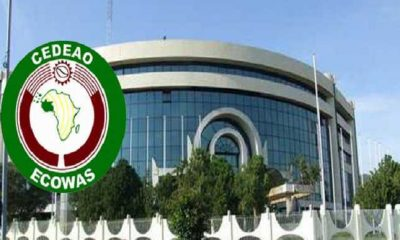 BREAKING: Fire Guts ECOWAS Secretariat In Abuja
