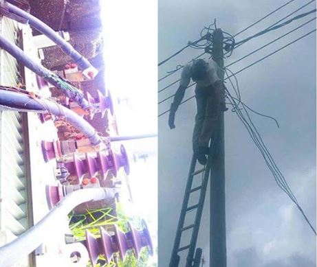 Electric Pole - Man Electrocuted On Electric Pole In Rivers
