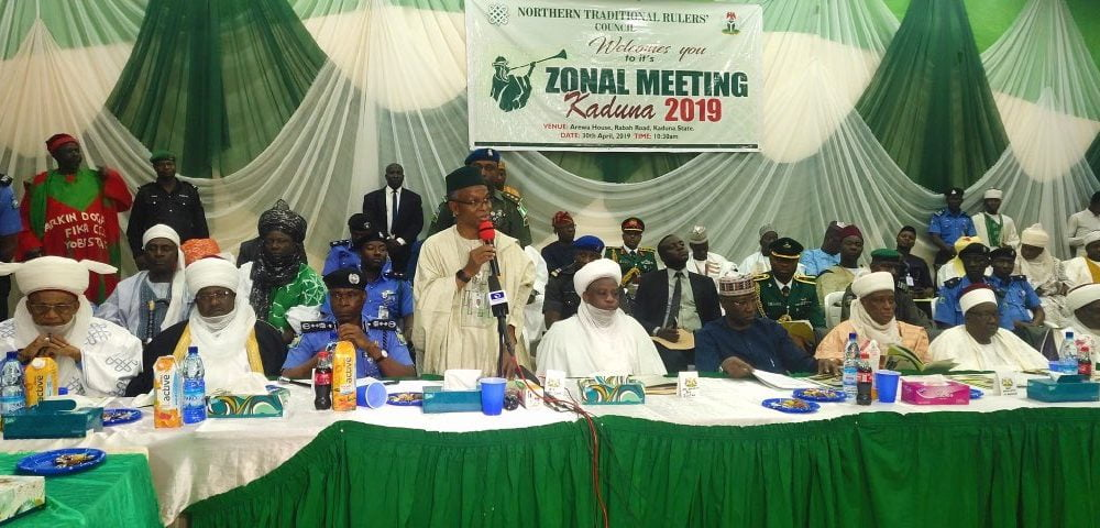Elrufai 1000x480 - El-Rufai Meets IGP, Sultan Of Sokoto, Defence Minister, Others (See Why)