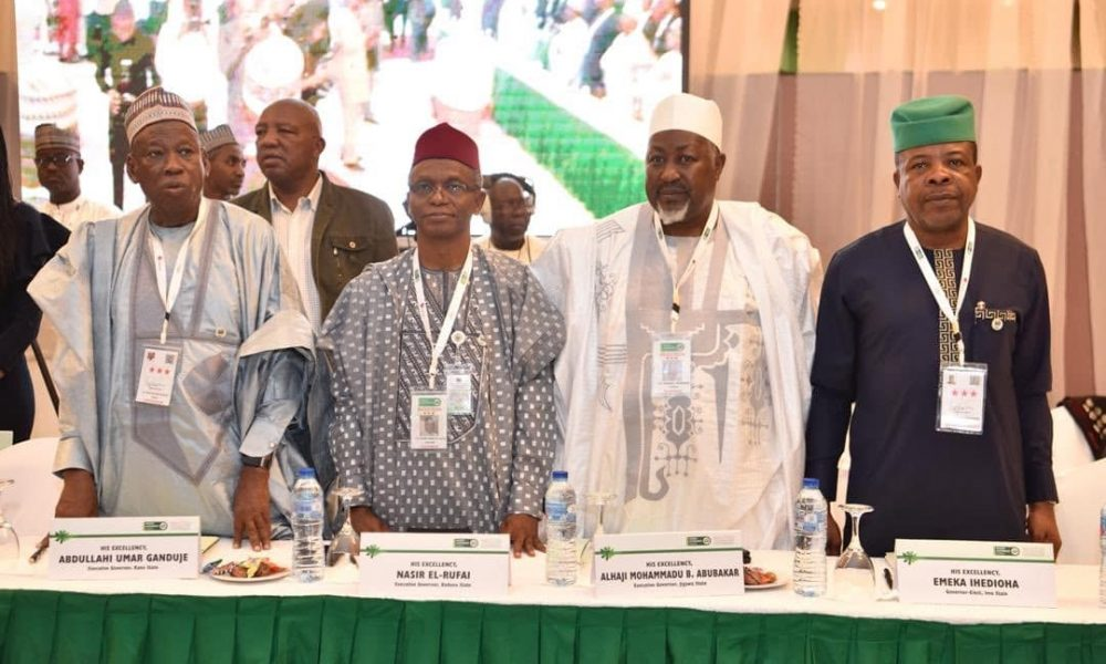 GOVERNORS 1000x600 - Induction: NGF Bars Newsmen Over Reports On Yari's Recession Statement