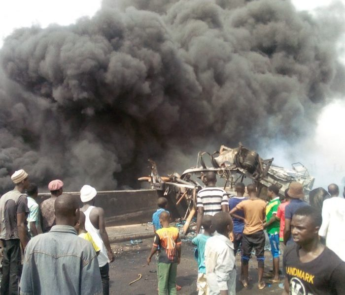 Gombe Explosion 700x600 - Scores Feared Dead As Fuel Tanker Explodes In Gombe (Video)