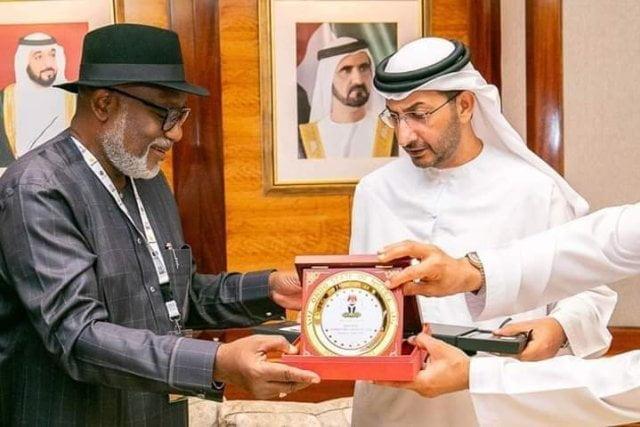 Gov Akeredolu 2 - Photos: See Why Gov Akeredolu Met With Dubai Ruling Family