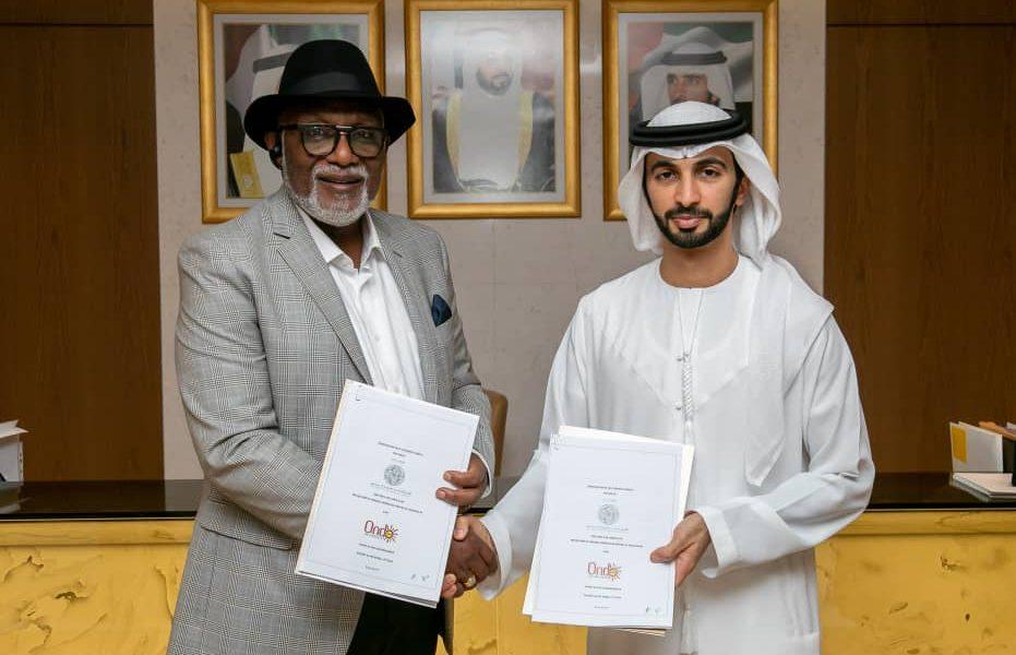 Gov Akeredolu 931x600 - Photos: See Why Gov Akeredolu Met With Dubai Ruling Family