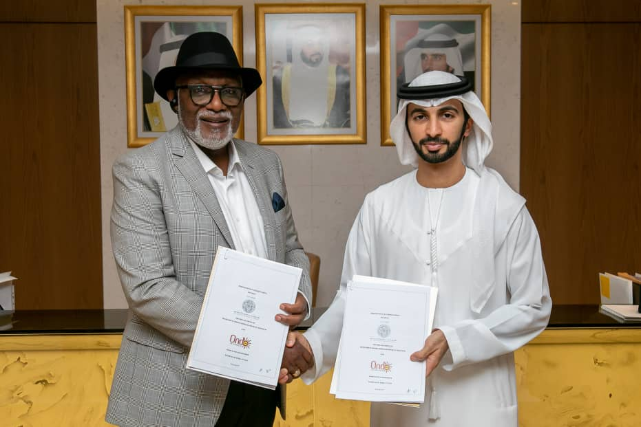 Gov Akeredolu - Photos: See Why Gov Akeredolu Met With Dubai Ruling Family