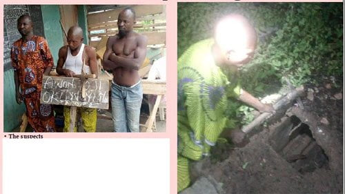 Human parts thieves - See Bricklayer, Accomplices Who Allegedly Steal Body Parts From Cemeteries