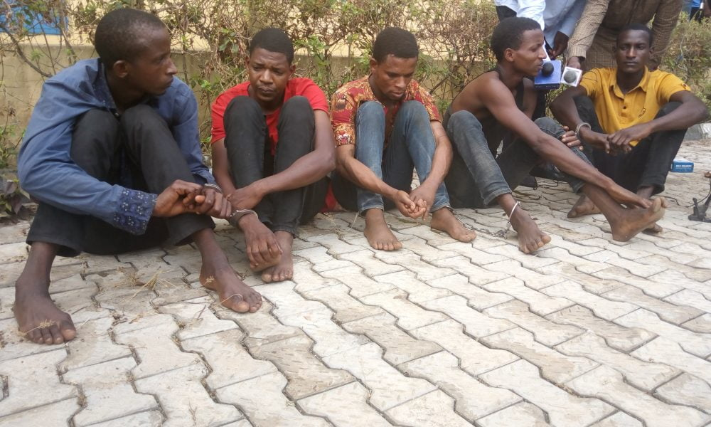 IMG 20190410 093959 0 1000x600 - Ondo State Bank Robbery: Five Suspects Remanded In Police Custody, One At Large