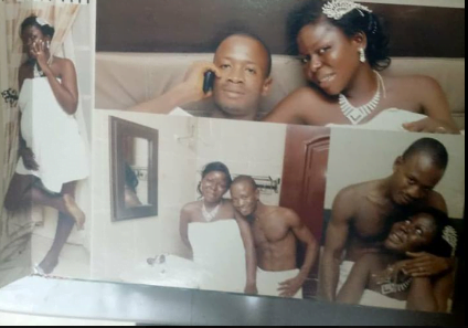 IPOB member honeymoon 1 - Biafra: IPOB Member Shows Support For Nnamdi Kanu, Releases Bedroom Photos With Wife