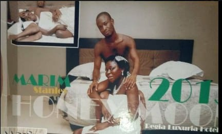 IPOB member honeymoon 2 - Biafra: IPOB Member Shows Support For Nnamdi Kanu, Releases Bedroom Photos With Wife
