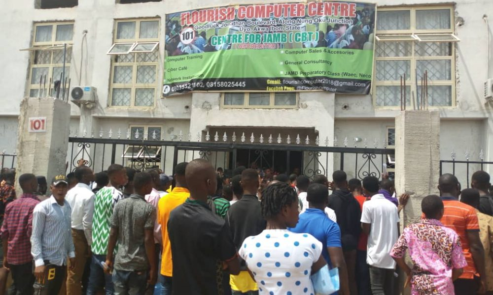 JAMB 1000x600 - JAMB 2019: Parents In Uyo Confirm System Collapse As Students Come Out Of Exam Hall Crying