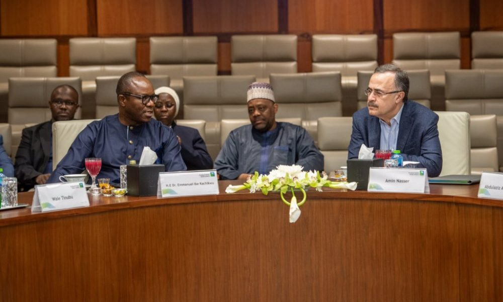 Kachikwu and Saudi Aramco 1000x600 - What Kachikwu Discussed With Top Oil Executives From Saudi Arabia