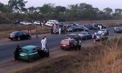 Bandits Block Kaduna-Abuja Highway, Kidnap UBEC Chairman, Others