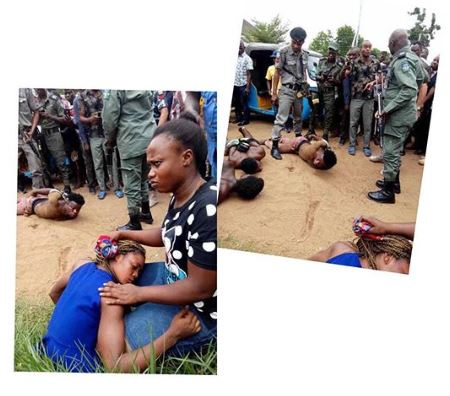 Kidnapped Lady - Police Rescue Lady From Suspected Ritualists In Delta