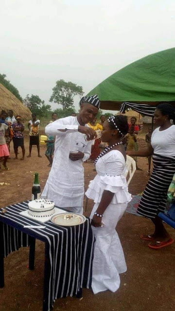 Kutar1 - Corps Member Dies Mysteriously Three Days After His Traditional Wedding (Photos)