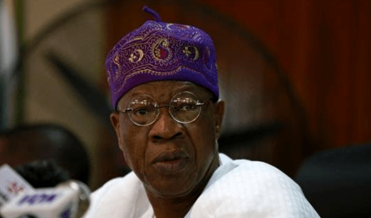 Lai-Mohammed speaks on presidential inauguration
