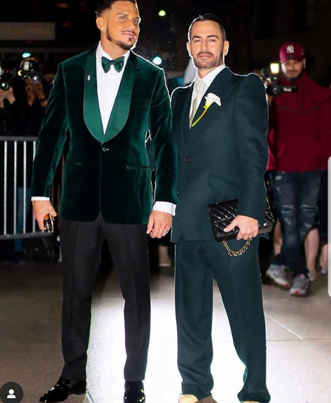 Marc Jacobs and boyfriend - Nollywood Actor, Gideon Okeke Reacts To Same-Sex Marriage