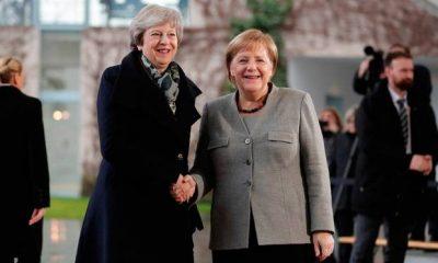 Merkel and May