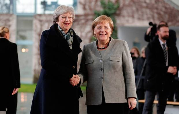 Merkel and May - Brexit: Merkel Set To Host May On Tuesday