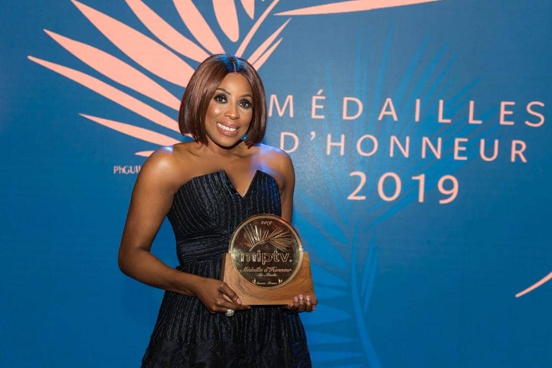 Mo Abudu 3 - Mo Abudu Receives The 2019 Médailles d'Honneur In France