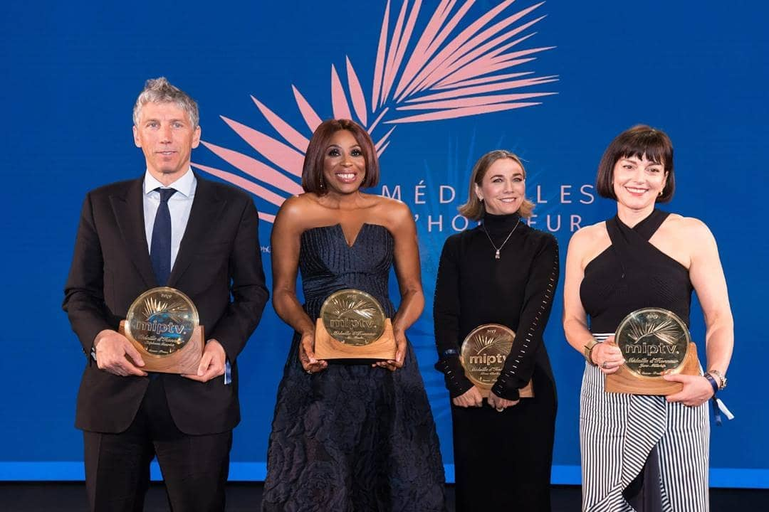 Mo Abudu 4 - Mo Abudu Receives The 2019 Médailles d'Honneur In France