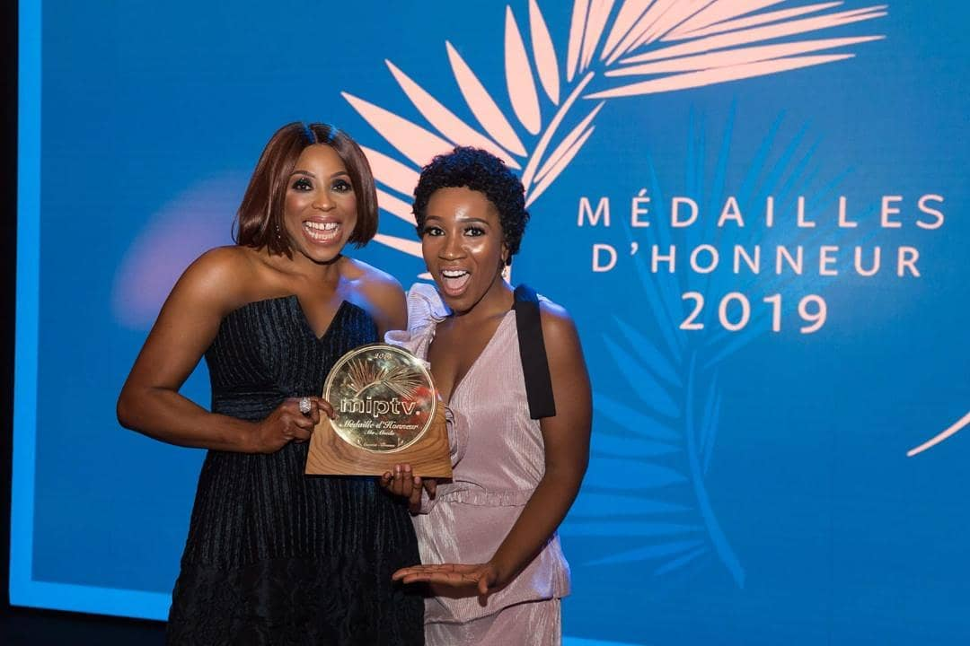 Mo Abudu 5 - Mo Abudu Receives The 2019 Médailles d'Honneur In France
