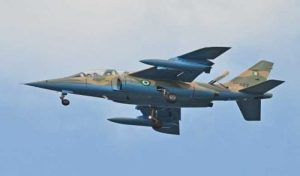 NAF Aircraft 300x176 - Many Boko Haram Leaders Killed As NAF Fighter Jets Bomb Sambisa Forest (Video)