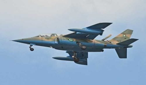 NAF Aircraft - Zamfara Monarch Says Air Strikes Killing Innocent Villagers