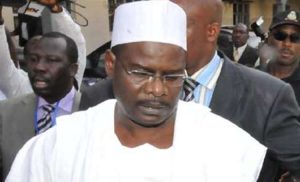 Ndume1 300x182 - Senator Ndume Withdraws As Maina's Surety